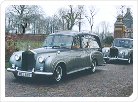 Rebel's Begrafenisonderneming Vervoer uitvaart Rolls Royce
