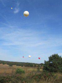 Asverstrooiing ballon