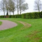 Begraafplaats Almere haven grafkamer