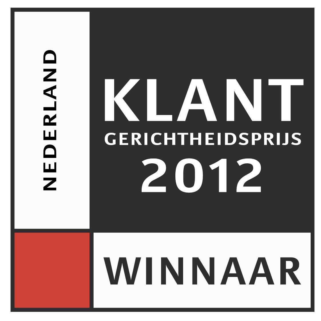 Logo Klantgerichtheidsprijs 2012