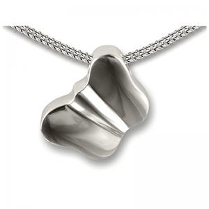 Zilveren hanger vlinder modern